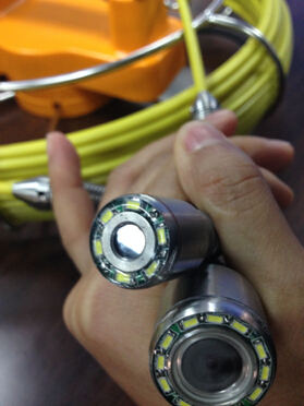 new 17mm pipe inspection camera head