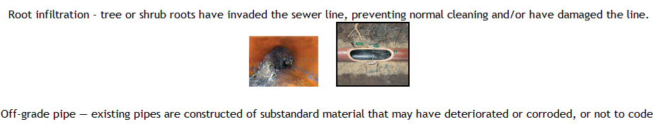 The video inspection sewer camera