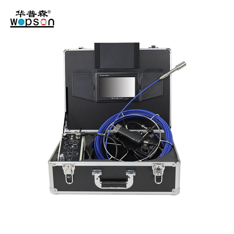A1 WOPSON Push Rod Industrial Sewer Inspection Camera For Sale