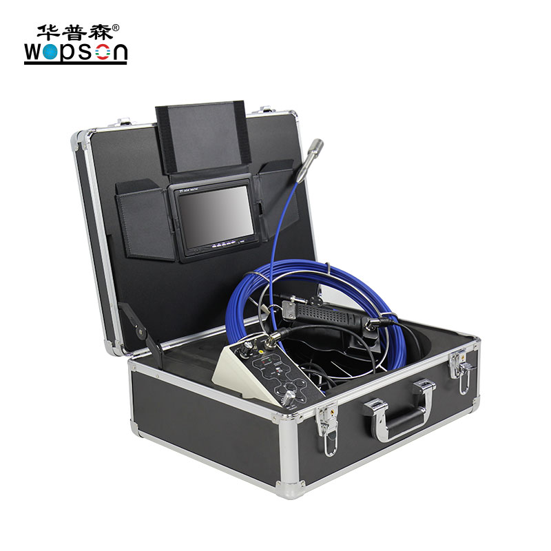A1 WOPSON Basic Push Rod Industrial Sewer Inspection Camera For Sale