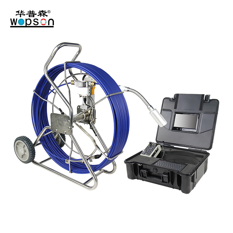 A4 WOPSON manual focus Push rod Plumbing Inspection Camera