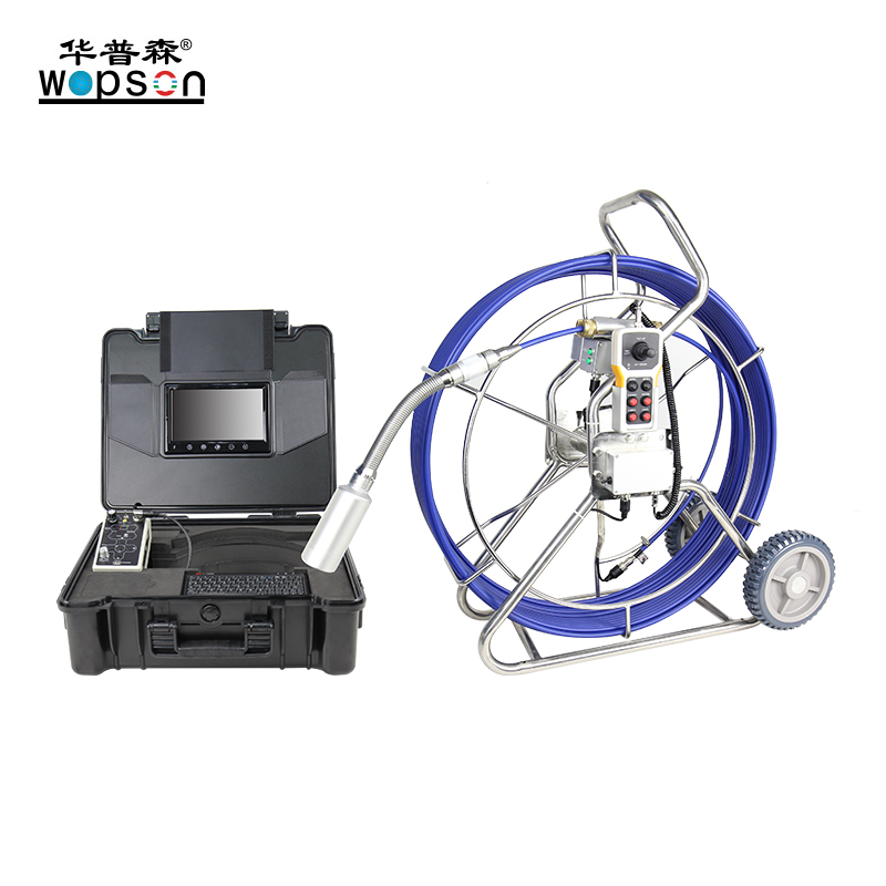 A4 Digital Color 360 Degree Rotative Sewer Inspection Camera
