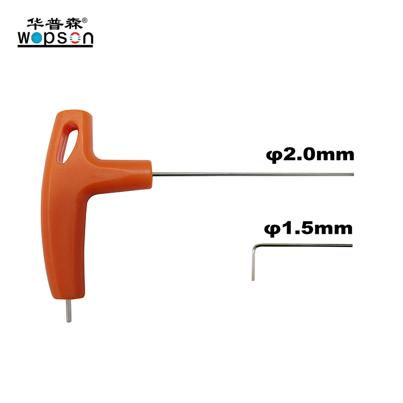 B3 WOPSON 40mm self leveling camera 60m fiberglass rod for Pipe Inspection