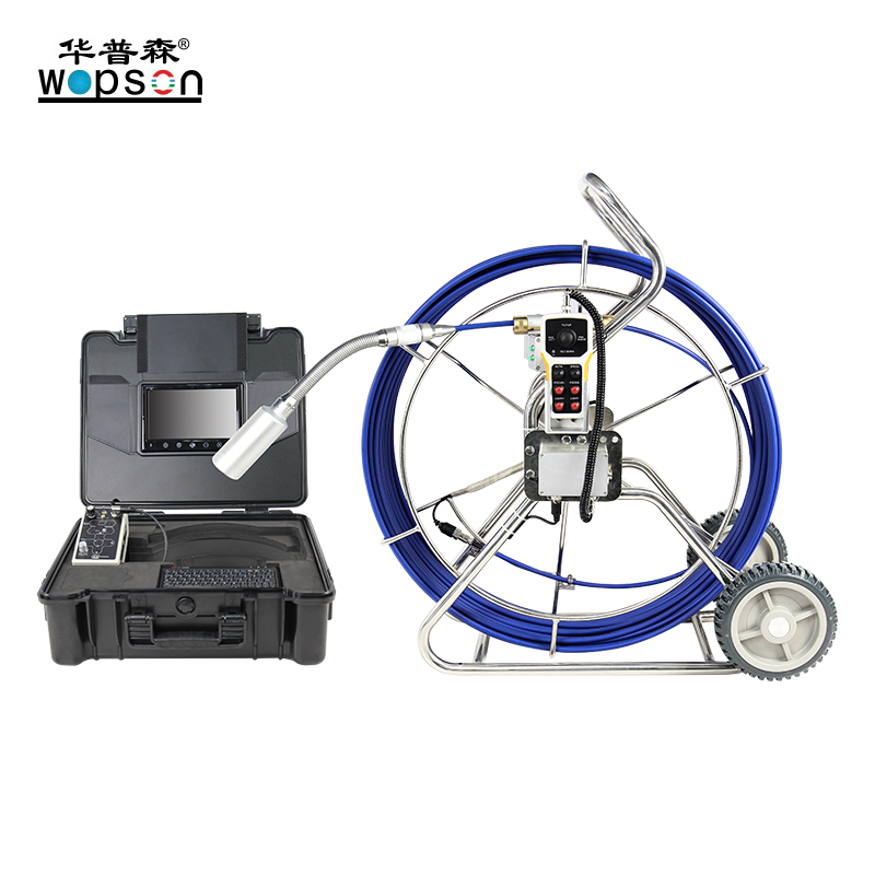 A4-C50BF WOPSON Underground inspection camera with 512hz FM pipe location
