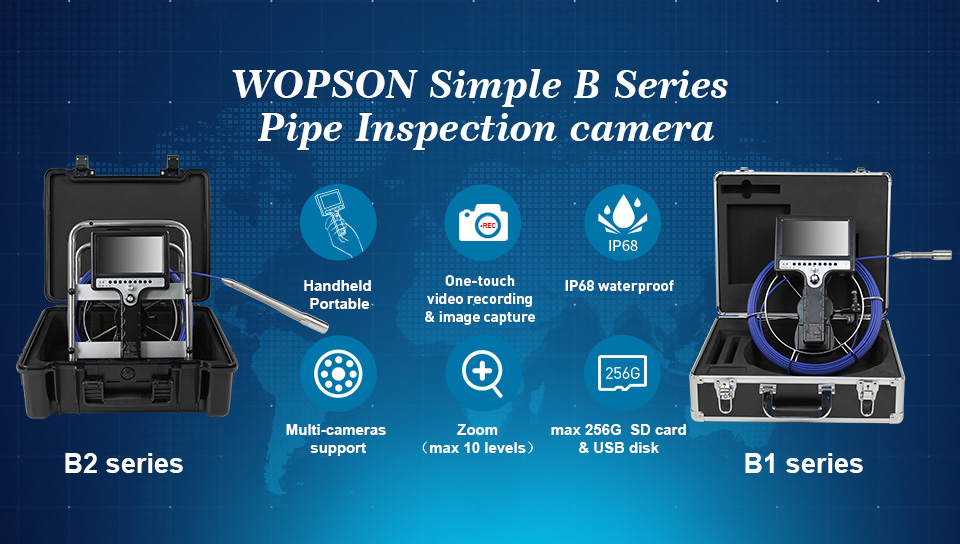 Pipe inspection camera, China, suppliers, manufacturers, factory, wholesale, customized, in stock, cheap, made in China, free sample