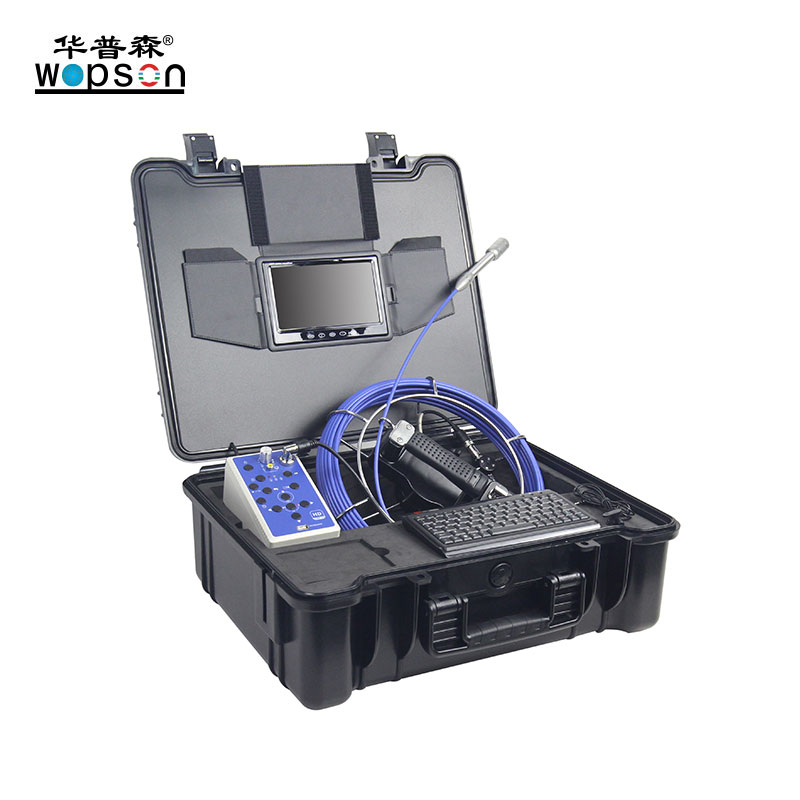 H2 40 meters 23mm camera for plumbing detector HD system with keyboard and abs case